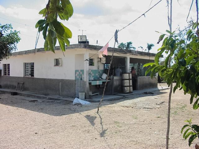 La casa de Luis en Guanjay