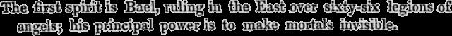 Bael text