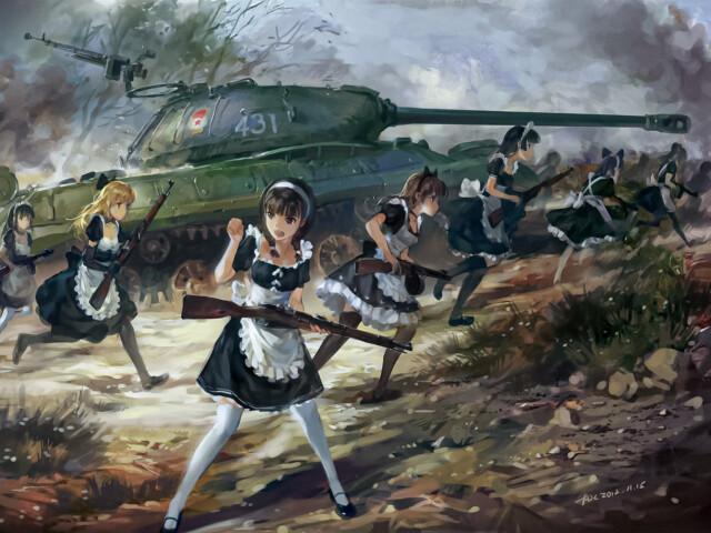 Girls & Panzers